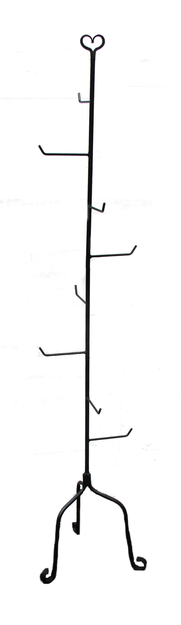 basket stand - amish made wrought iron