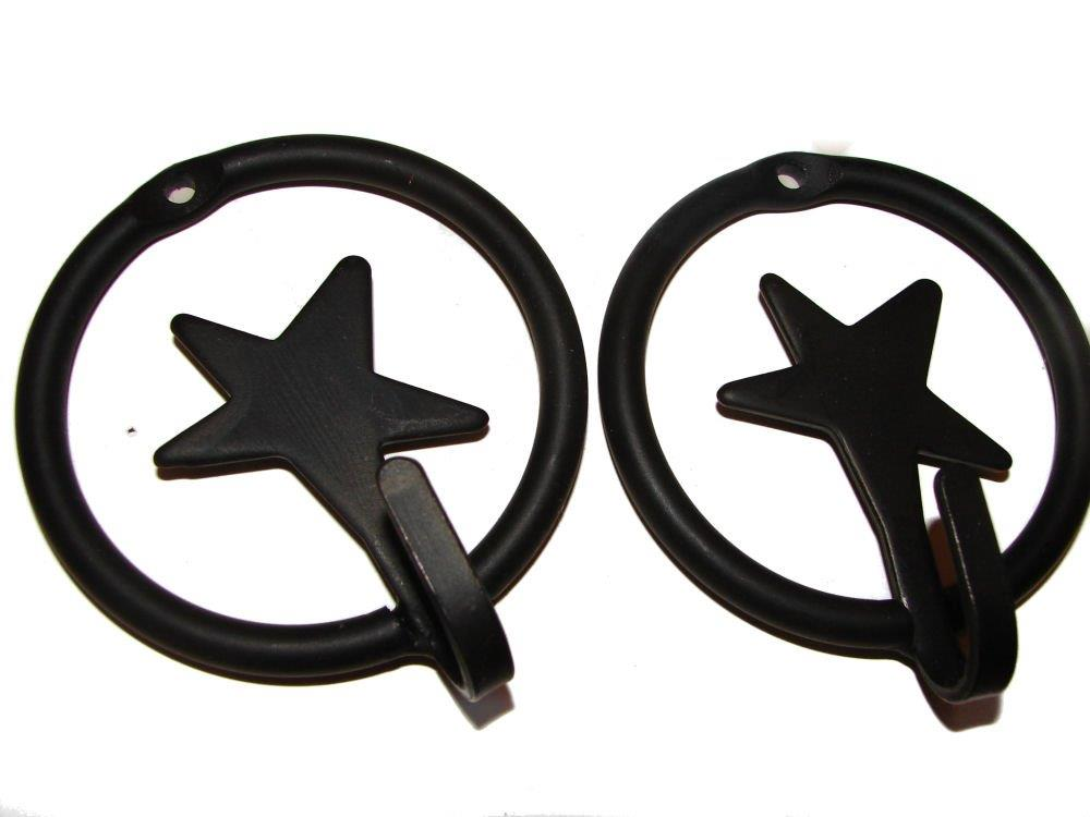 star ring hook - wrought iron